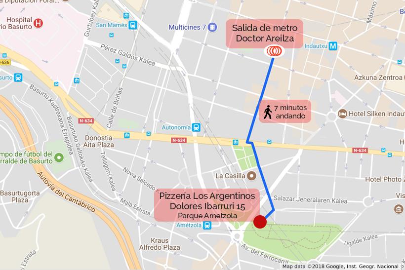 Mapa Indicaciones Nuevo Local